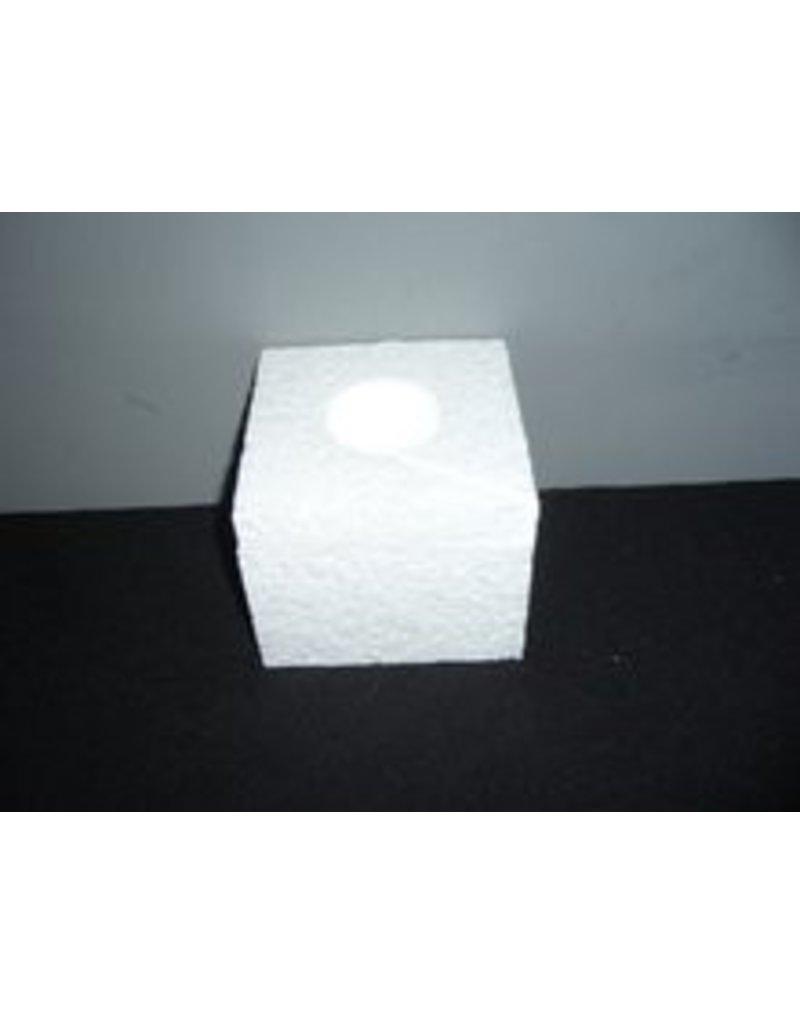 Styrofoam tea light