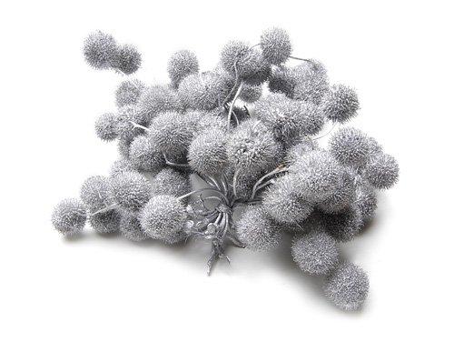 Plataan balletjes zilver