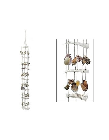 Mixed shell pendant