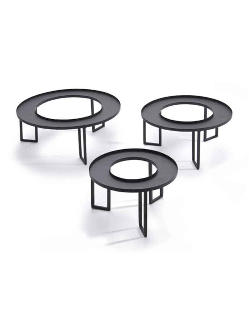Tray round for foam ring
