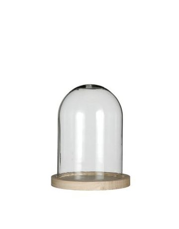 Bell jar wood