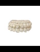 Shell basket white