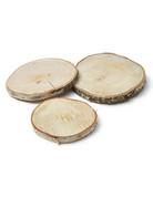 Birch slice round