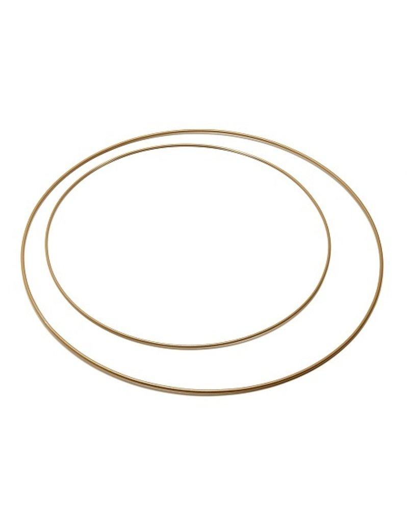 Metal ring 50 cm  Gold