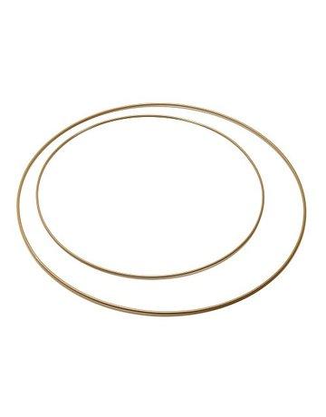 Metalen Ring 40 cm  Goud