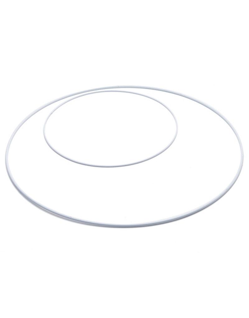 Metalen Ring Wit
