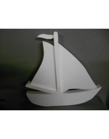 Piepschuim zeilboot