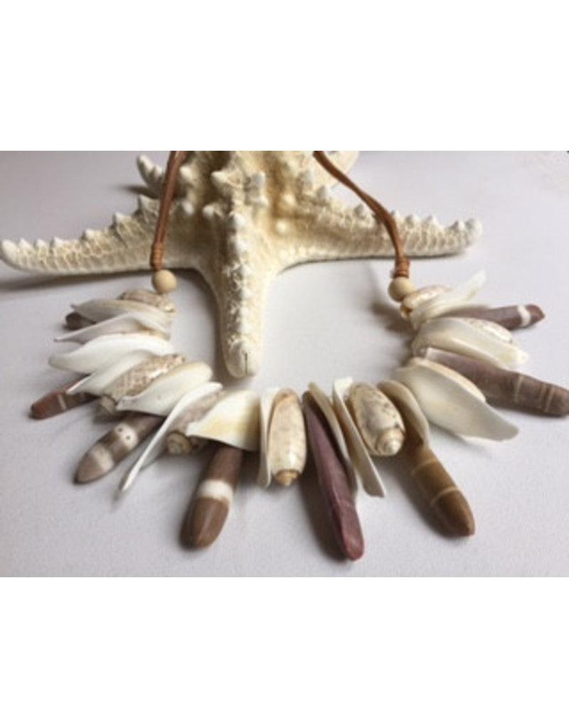 Shell necklace sea urchin