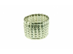 Metalen armband, elastiek