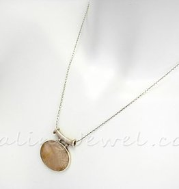 collier sterling zilver, thais zilveren, 46cm, voor hangeroog >3 mm