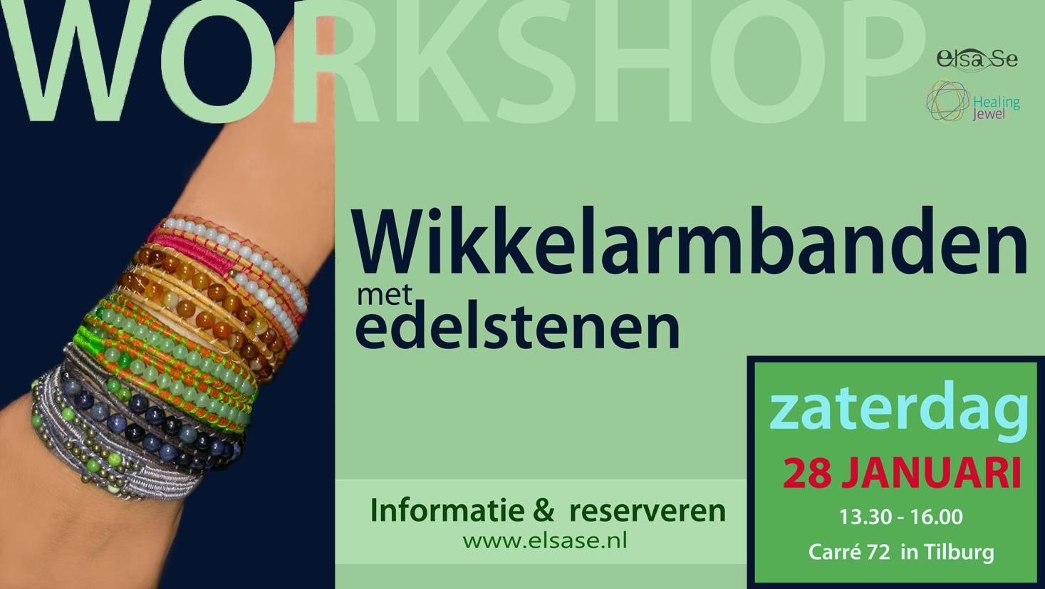 Workshop wikkelarmbanden