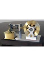 NVM 60.12.028 Vlamhapper met glazen cilinder en inwendige schuif MK2