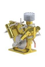 """NVM 60.01.029 CD - 4-cilinder V-stoommachine """"de Eenvoud"""""""