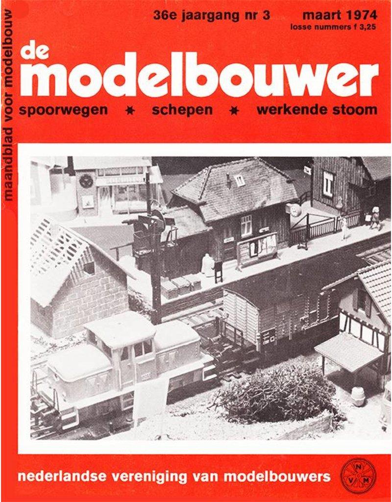 """NVM 95.74.003 Jaargang """"De Modelbouwer"""" Editie : 74.003 (PDF)"""