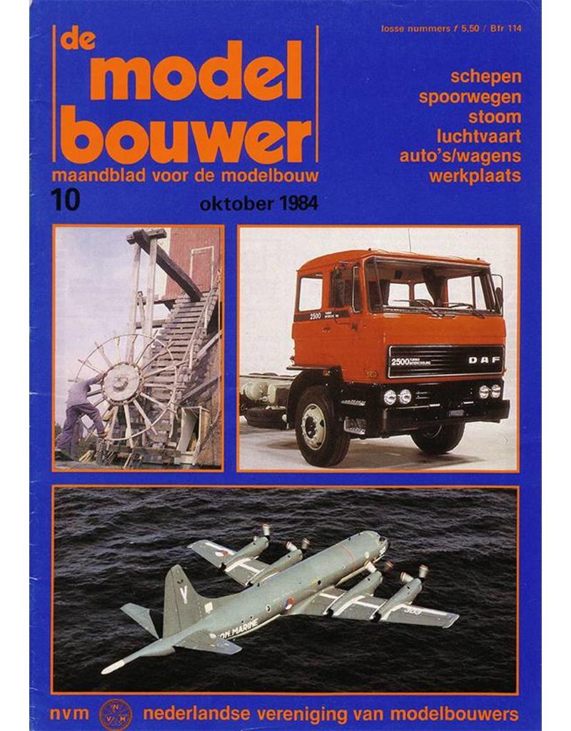 """NVM 95.84.010 Jaargang """"De Modelbouwer"""" Editie : 84.010 (PDF)"""