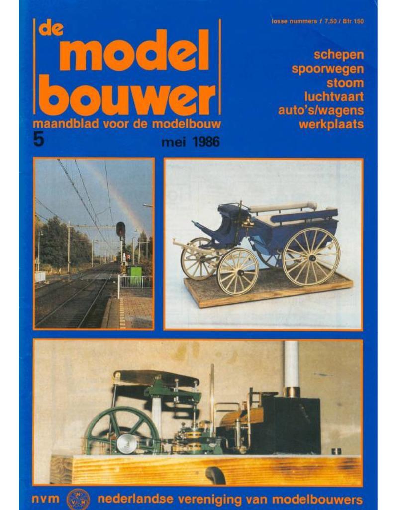 """NVM 95.86.005 Jaargang """"De Modelbouwer"""" Editie : 86.005 (PDF)"""