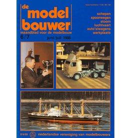 """NVM 95.86.007 Jaargang """"De Modelbouwer"""" Editie : 86.007 (PDF)"""