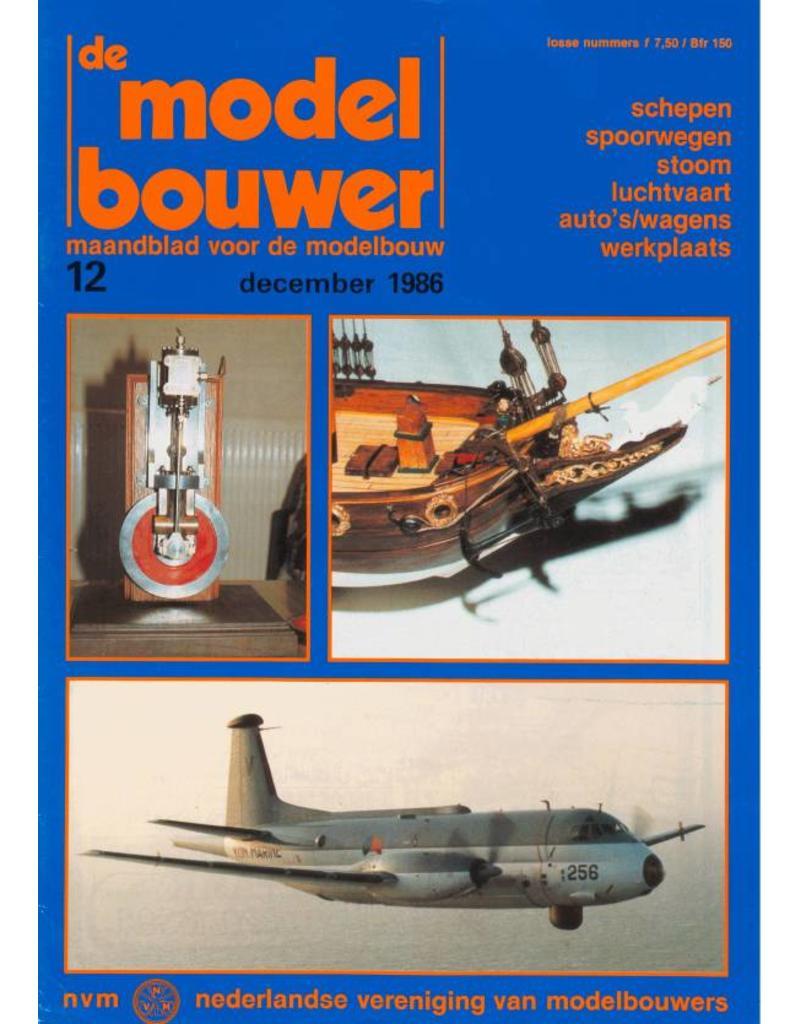 """NVM 95.86.012 Jaargang """"De Modelbouwer"""" Editie : 86.012 (PDF)"""
