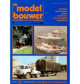 """NVM 95.86.001 Jaargang """"De Modelbouwer"""" Editie : 86.001 (PDF)"""