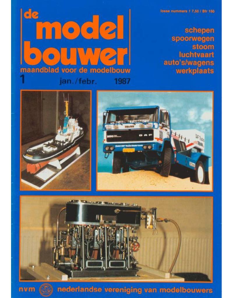 """NVM 95.87.001 Jaargang """"De Modelbouwer"""" Editie : 87.001 (PDF)"""