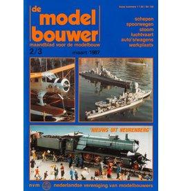 """NVM 95.87.003 Jaargang """"De Modelbouwer"""" Editie : 87.003 (PDF)"""