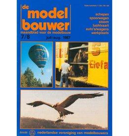 """NVM 95.87.007 Jaargang """"De Modelbouwer"""" Editie : 87.007 (PDF)"""