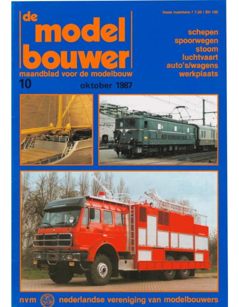 """NVM 95.87.010 Jaargang """"De Modelbouwer"""" Editie : 87.010 (PDF)"""
