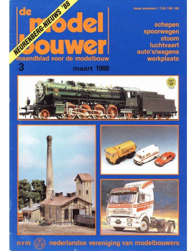 """NVM 95.88.003 Jaargang """"De Modelbouwer"""" Editie : 88.003 (PDF)"""