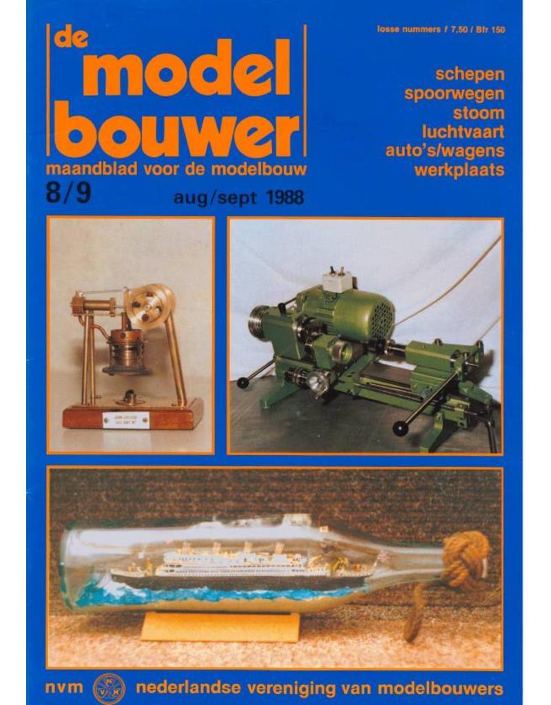 """NVM 95.88.008 Jaargang """"De Modelbouwer"""" Editie : 88.008 (PDF)"""