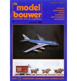 """NVM 95.89.001 Jaargang """"De Modelbouwer"""" Editie : 89.001 (PDF)"""