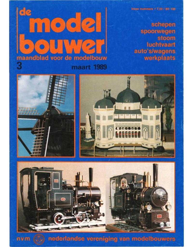 """NVM 95.89.003 Jaargang """"De Modelbouwer"""" Editie : 89.003 (PDF)"""