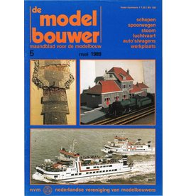 """NVM 95.89.005 Jaargang """"De Modelbouwer"""" Editie : 89.005 (PDF)"""
