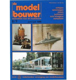 """NVM 95.89.007 Jaargang """"De Modelbouwer"""" Editie : 89.007 (PDF)"""