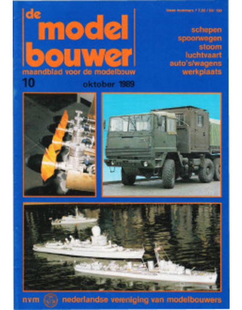 """NVM 95.89.010 Jaargang """"De Modelbouwer"""" Editie : 89.010 (PDF)"""