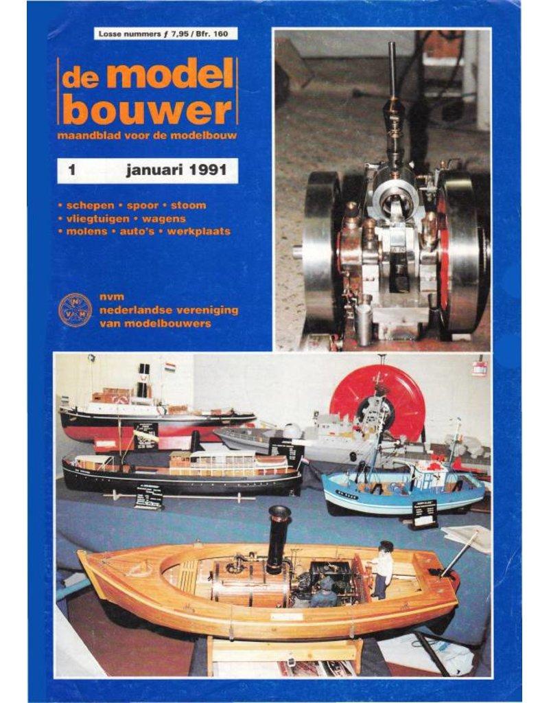 """NVM 95.91.001 Jaargang """"De Modelbouwer"""" Editie : 91.001 (PDF)"""