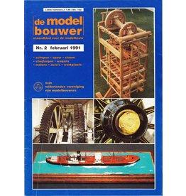 """NVM 95.91.002 Jaargang """"De Modelbouwer"""" Editie : 91.002 (PDF)"""