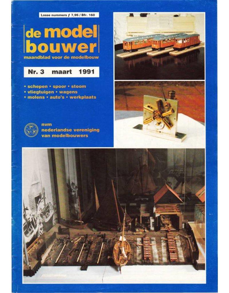 """NVM 95.91.003 Jaargang """"De Modelbouwer"""" Editie : 91.003 (PDF)"""