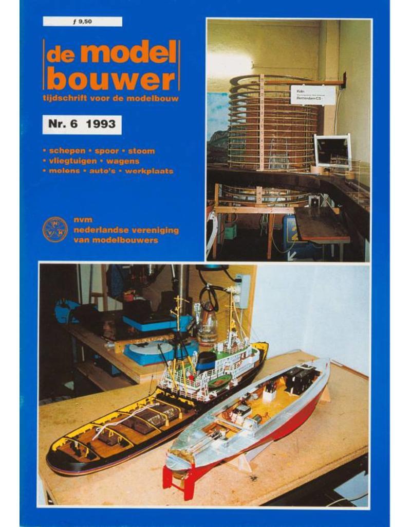 """NVM 95.93.006 Jaargang """"De Modelbouwer"""" Editie : 93.006 (PDF)"""