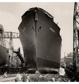 "NVM 10.10.018 vrachtschip ms ""Kinderdijk"" (1955) - HAL"