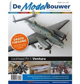 """NVM 95.13.001 Jaargang """"De Modelbouwer"""" Editie : 13.001"""