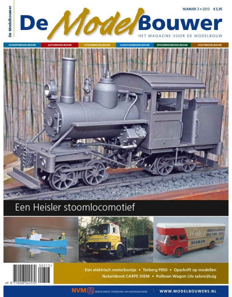 """NVM 95.13.003 Jaargang """"De Modelbouwer"""" Editie : 13.003"""
