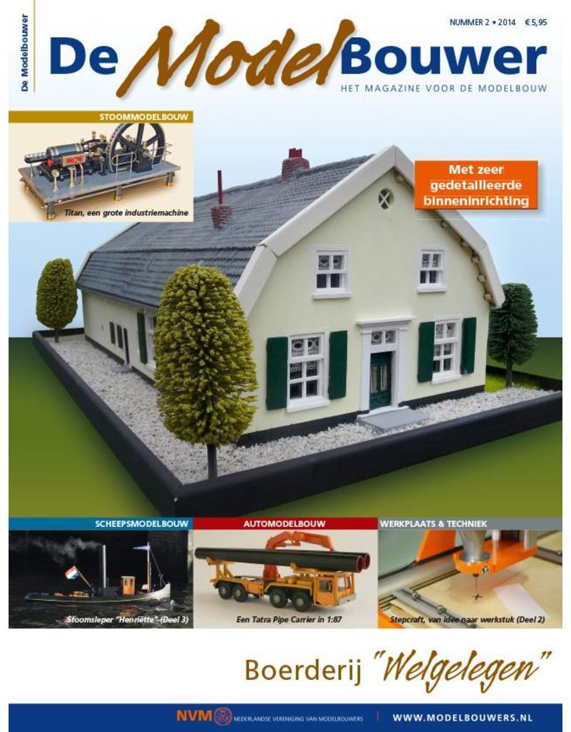 """NVM 95.14.002 Jaargang """"De Modelbouwer"""" Editie : 14.002"""