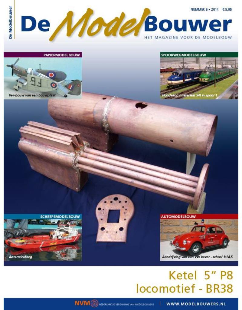 """NVM 95.14.006 Jaargang """"De Modelbouwer"""" Editie : 14.006  (PDF)"""