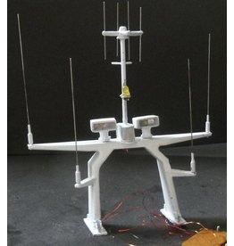 NVM 11.17.012 Antennemast voor KNRM reddingboot type Valentijn