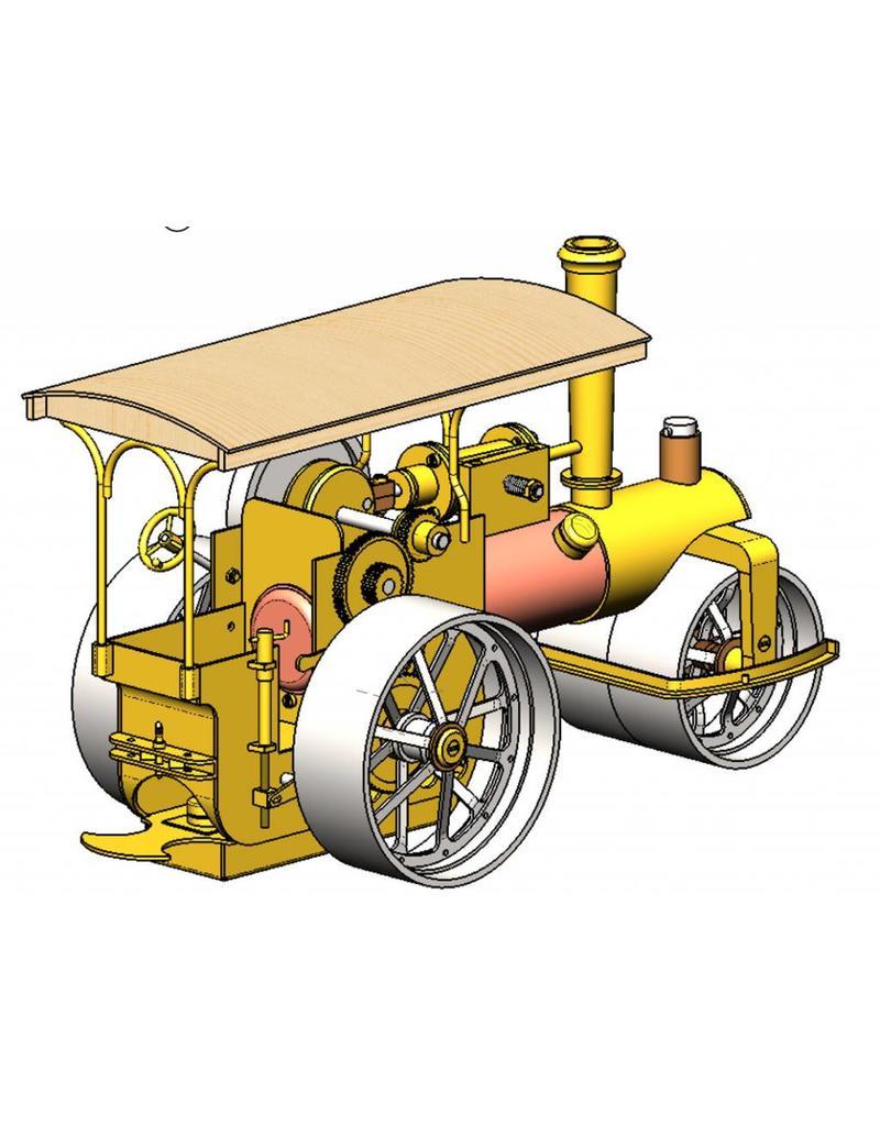 NVM 40.10.007/A Freelance stoomwals met oscillerende cilinder