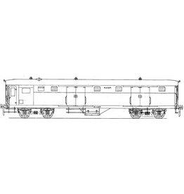 NVM 29.05.011 NS Bagagewagen D6061 - 6100 voor spoor 0