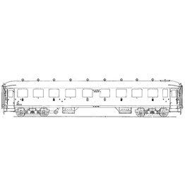 NVM 29.05.014 NS Doorgangsrijtuig 1e, 2e en 3e klasse ABC 7521 - 7555 voor spoor 0