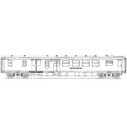 NVM 29.05.016 NS Restauratie/Bagagerijtuig RD 6951 - 6978 voor spoor 0