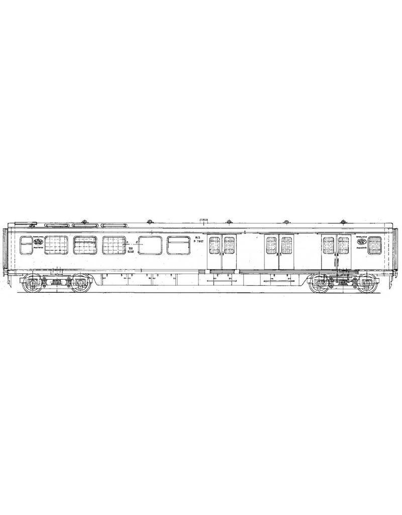 NVM 29.05.019 NS Postrijtuig P 7921 - 7930 voor spoor 0