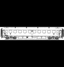 NVM 29.05.033 'NS doorgangsrijtuig 3e klasse C 7211 - 7222 voor spoor 0